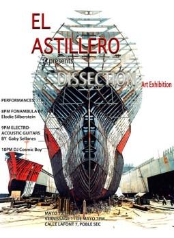 Exposición Dissection Astillero Espacio Cultural