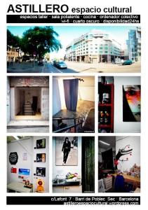 Astillero Espacio Cultural taller de arte Barcelona